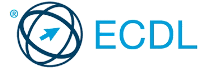 logo programu ECDL